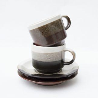 Vintage kop & schotel
