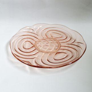 Vintage schaal persglas