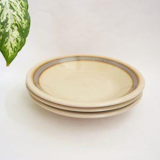 Set 3 vintage borden diep
