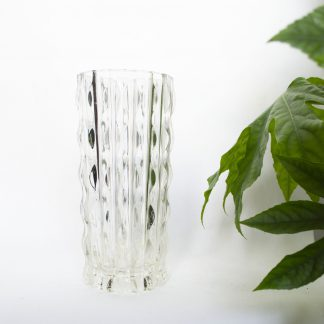 Vintage vaas glas