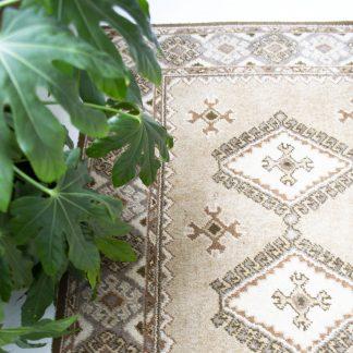 Vintage tapijt/vloerkleed groot