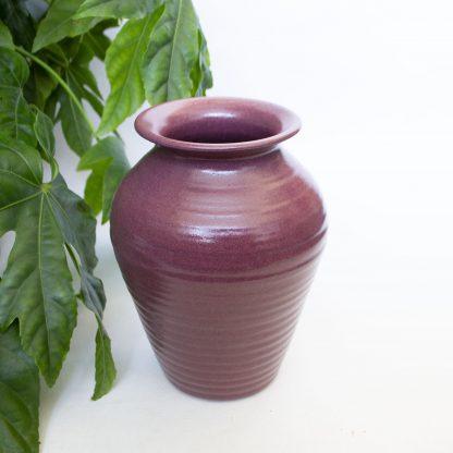 Vintage vaas groot roze